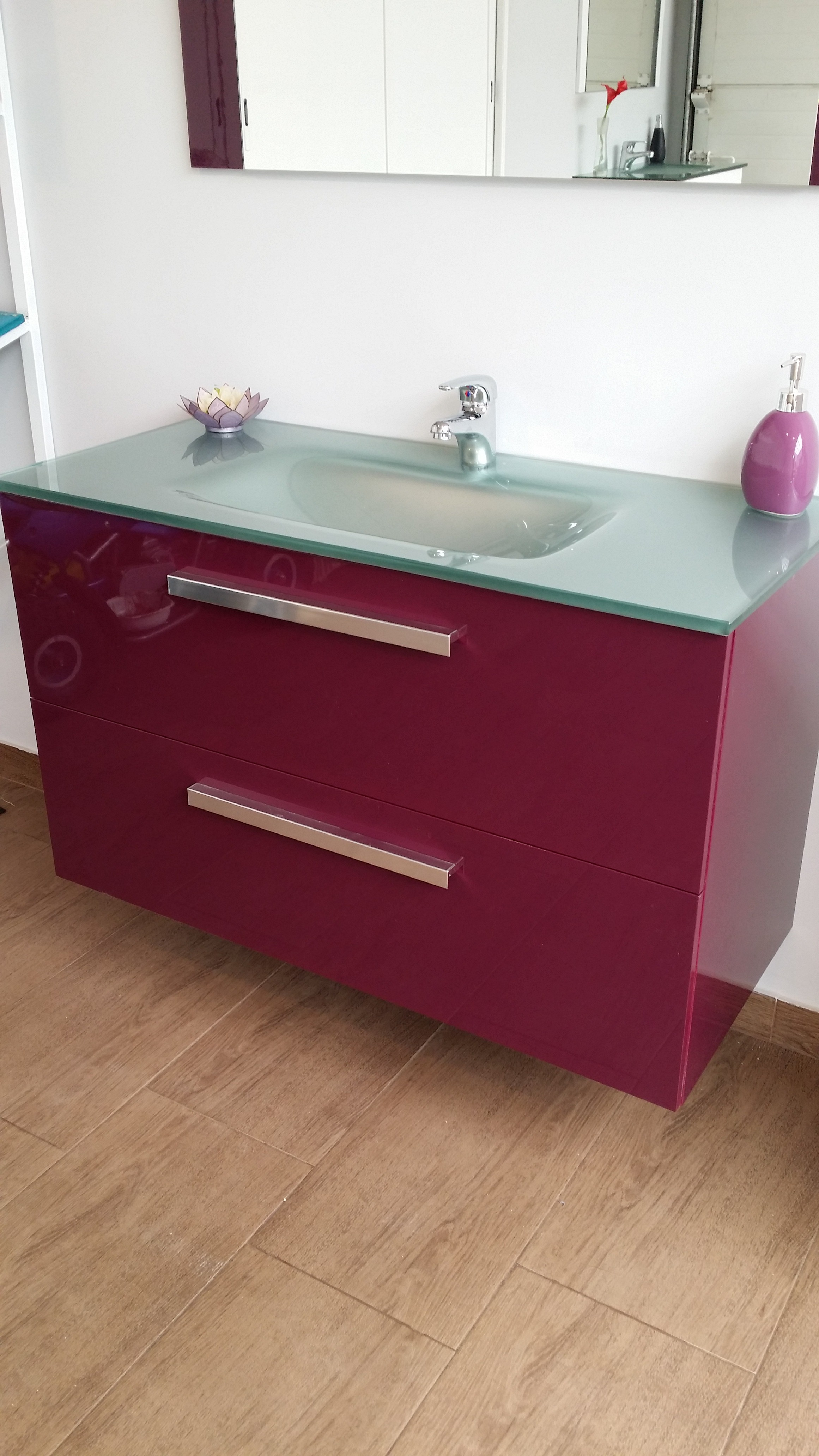 Muebles Para Baño Ferrari:Modelo Plus