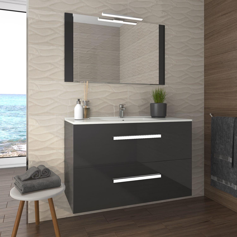Mueble de ba o modelo plus de calida y precio insuperables for Muebles de bano negro