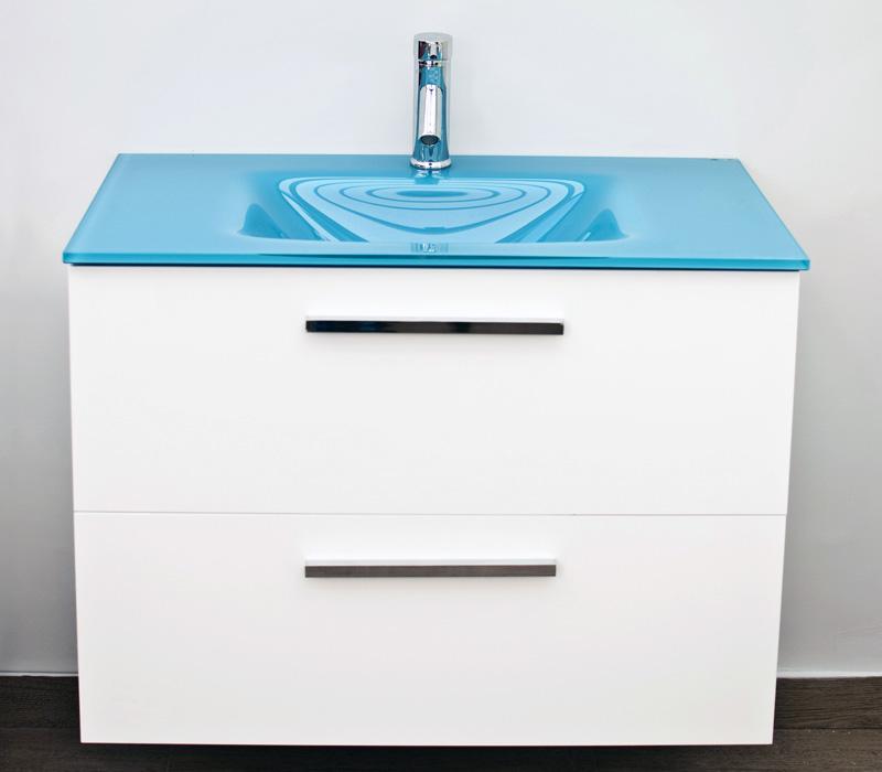 Mueble Baño Turquesa:Modelo Cien