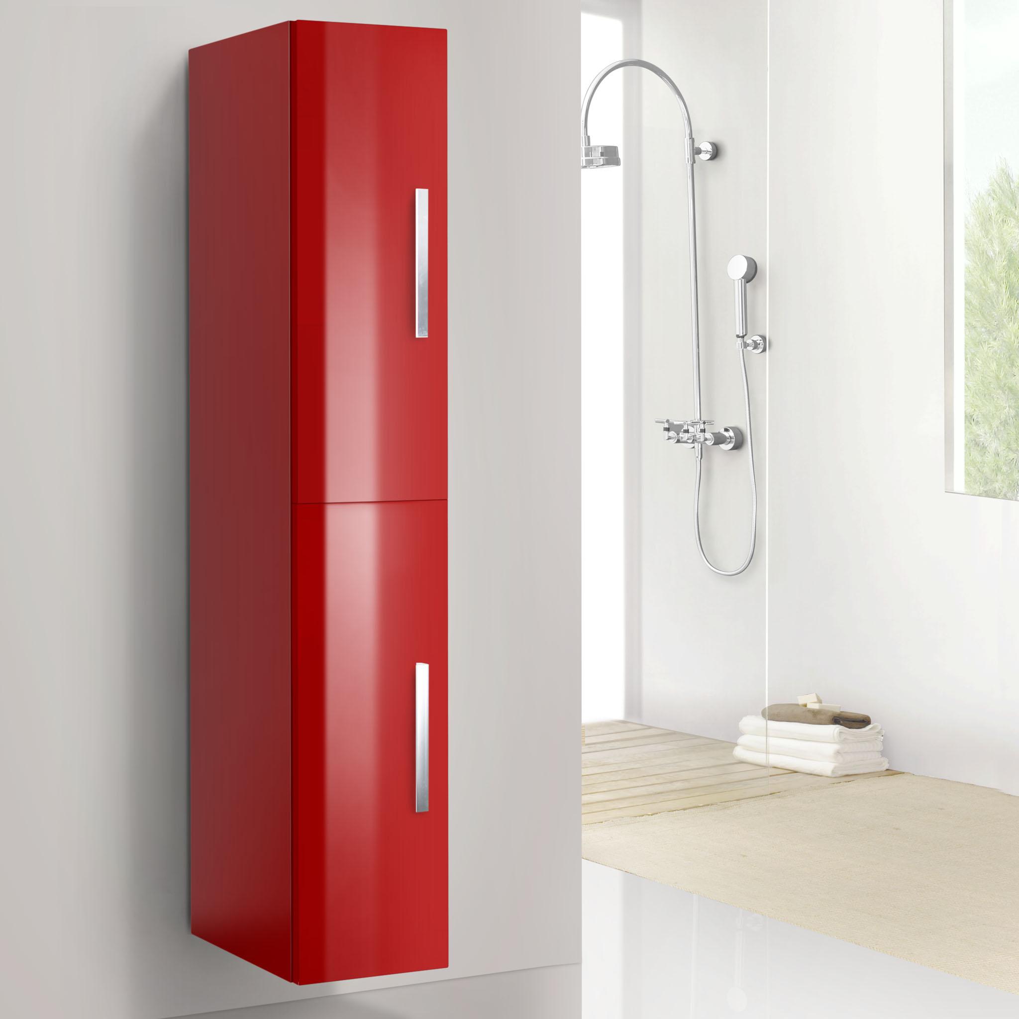 Muebles De Baño Rojos:Columna auxiliar para mueble de baño mod: Cien-Plus-Vera