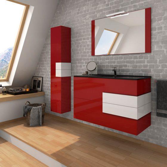 mueble-baño-soria-rojo