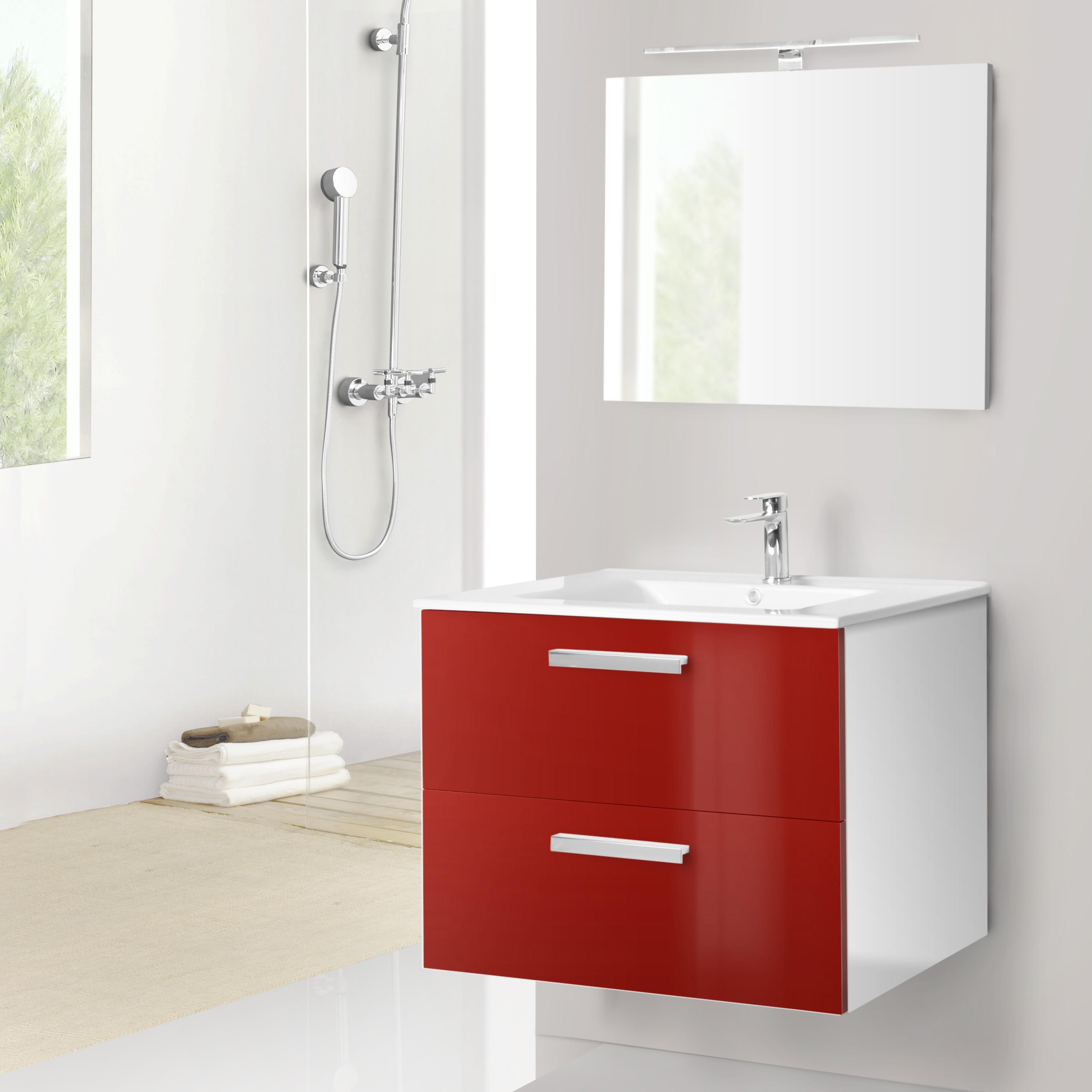 Muebles Para Baño Ferrari:Modelo Nova Fondo reducido 395