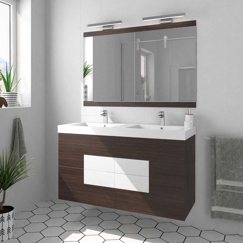 Mueble de baño Moderno y Economico - Modelo Cuadra 120