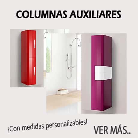 columnas auxiliares de baño
